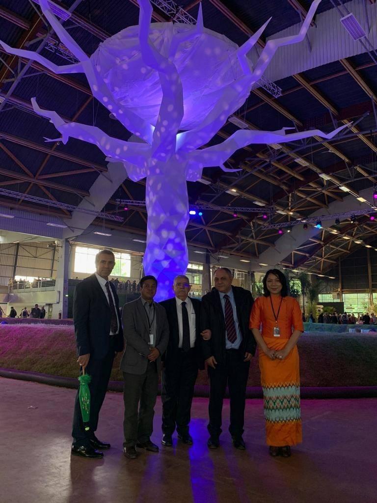 Başkan Mahçiçek EXPO İçin Fransa Nantes'te