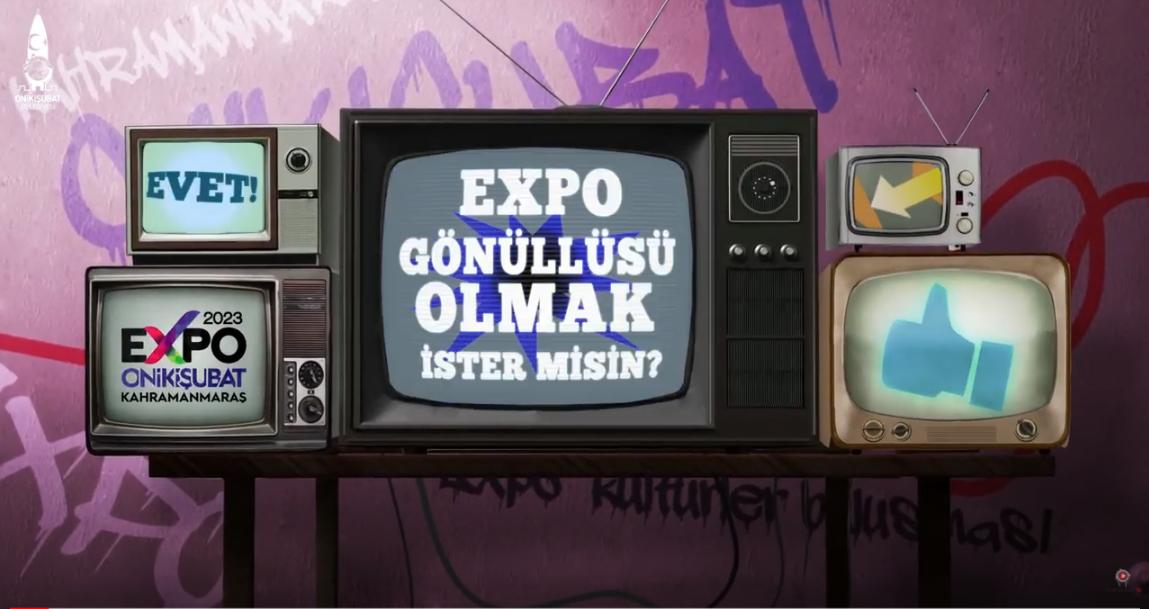 Expo Gönüllüsü Olmak İster misin?